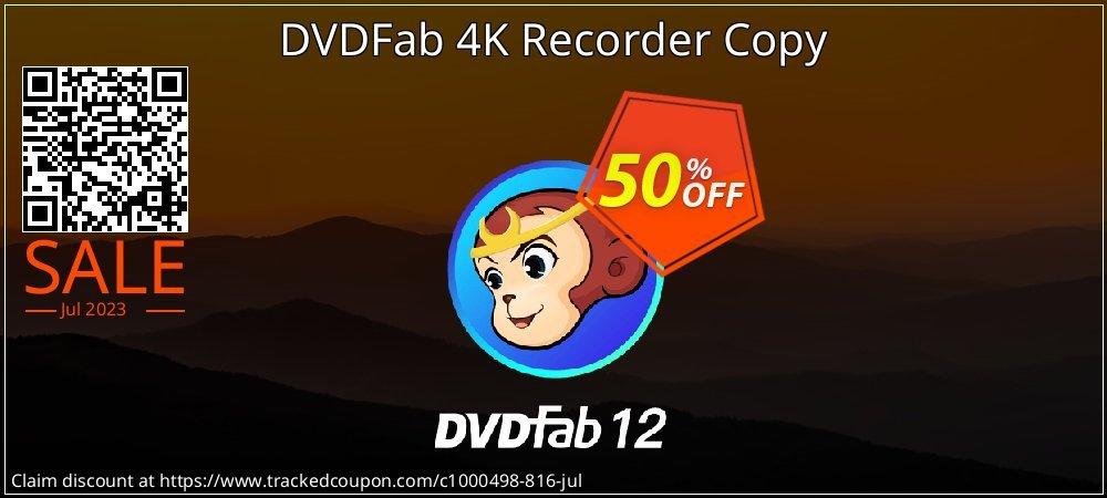 DVDFab 4K Recorder Copy coupon on Emoji Day super sale