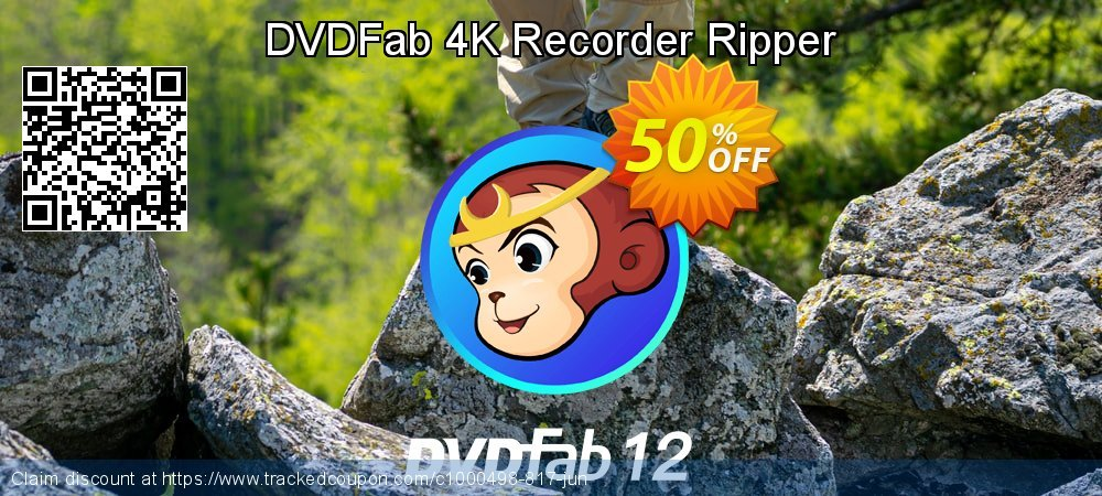 DVDFab 4K Recorder Ripper coupon on Parents' Day discounts
