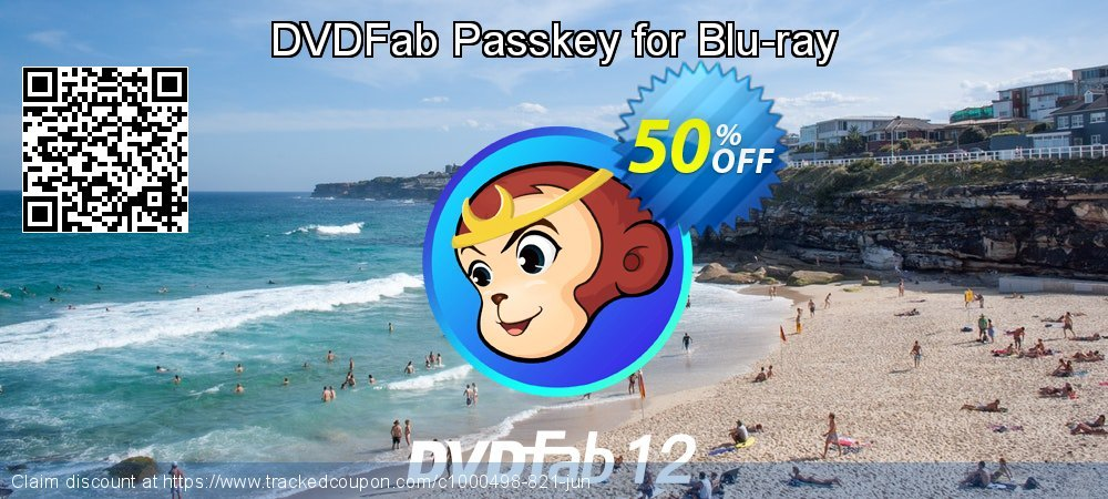DVDFab Passkey for Blu-ray coupon on World Chocolate Day offer