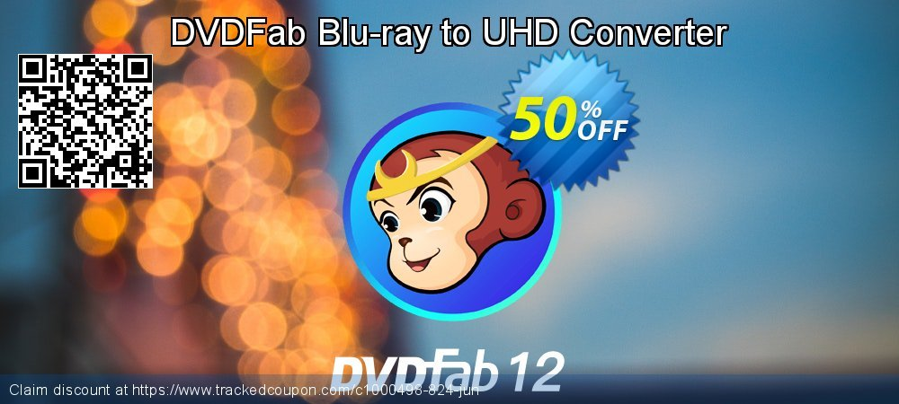 DVDFab Blu-ray to UHD Converter coupon on Eid al-Adha offering sales