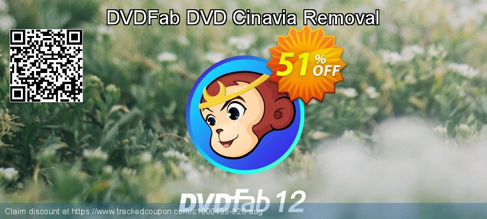 DVDFab DVD Cinavia Removal coupon on World Population Day discounts