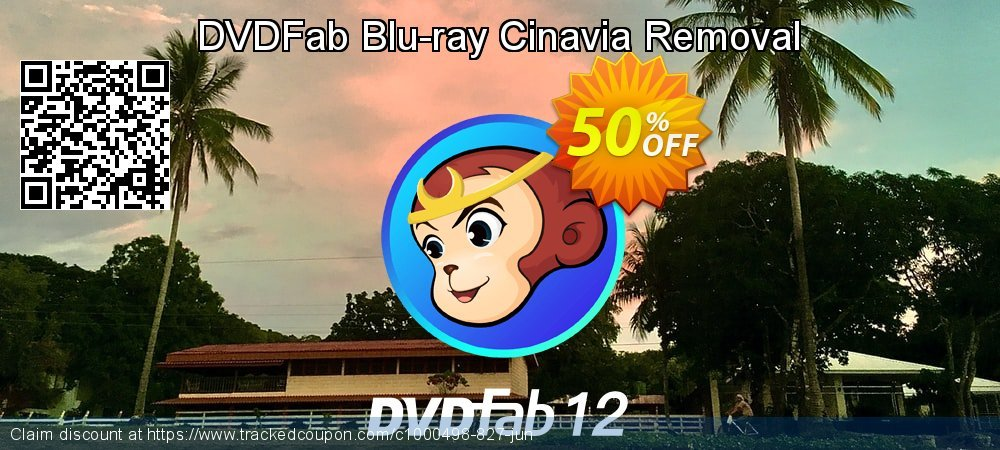DVDFab Blu-ray Cinavia Removal coupon on Nude Day promotions