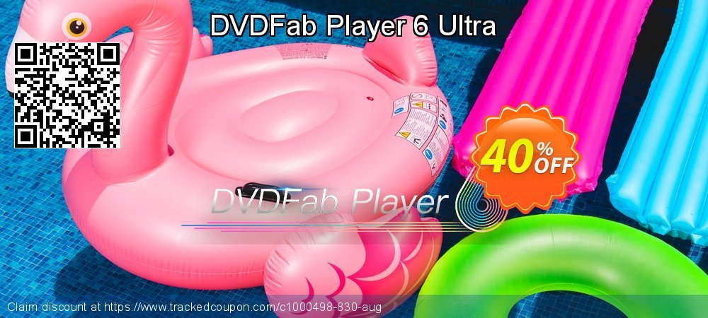 DVDFab Player 6 Ultra coupon on Parents' Day offer