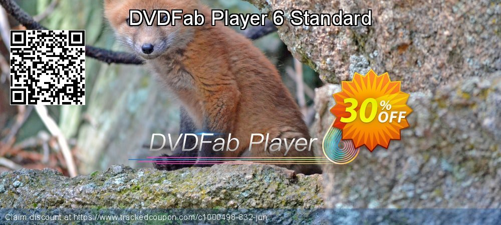 DVDFab Player 6 Standard coupon on National Bikini Day offering discount