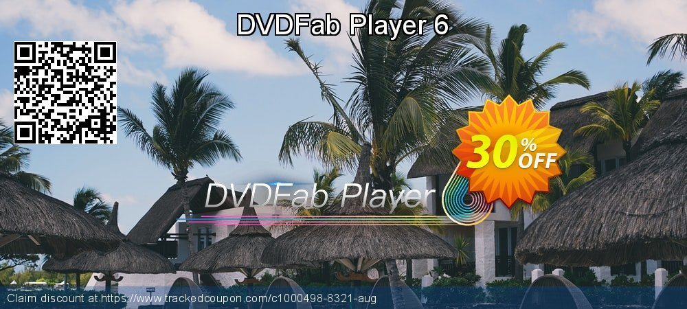 DVDFab Player 6 coupon on Nude Day offering sales