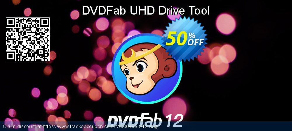 DVDFab UHD Drive Tool coupon on Emoji Day offering sales
