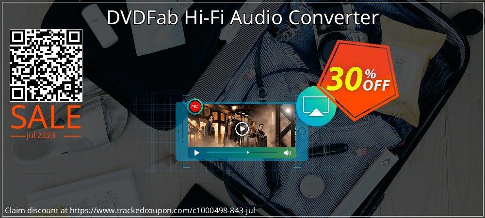 DVDFab Hi-Fi Audio Converter coupon on Parents' Day super sale