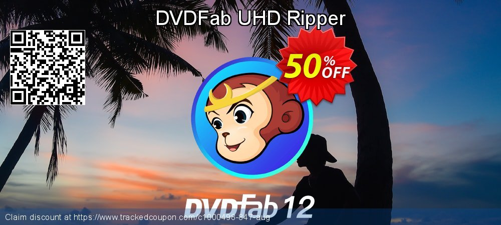 DVDFab UHD Ripper coupon on World Chocolate Day deals