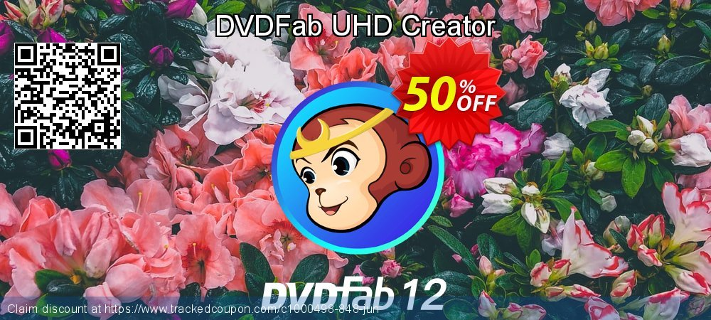 DVDFab UHD Creator coupon on National French Fry Day offer