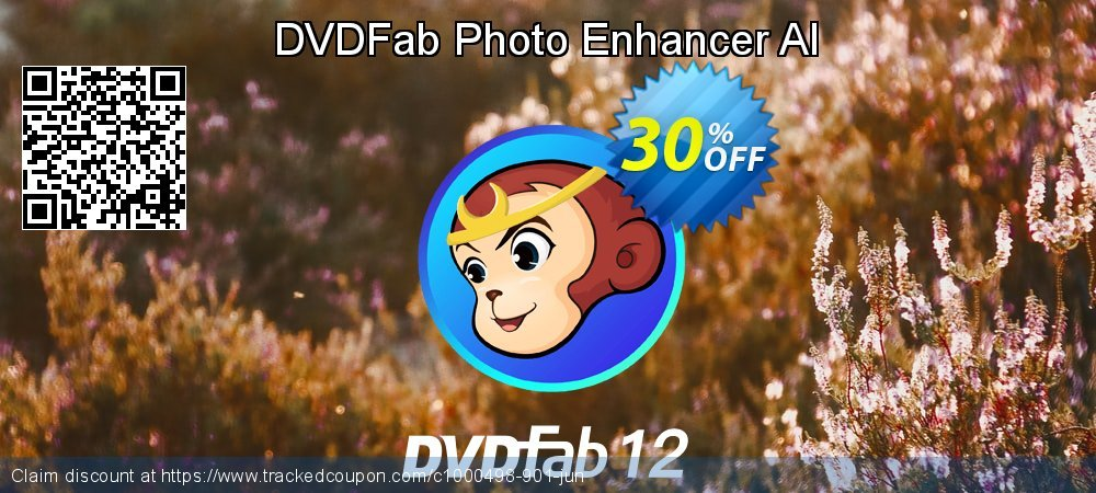 DVDFab Photo Enhancer AI coupon on World UFO Day deals