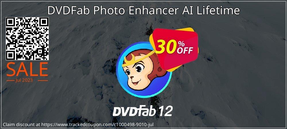 DVDFab Photo Enhancer AI Lifetime coupon on Nude Day deals