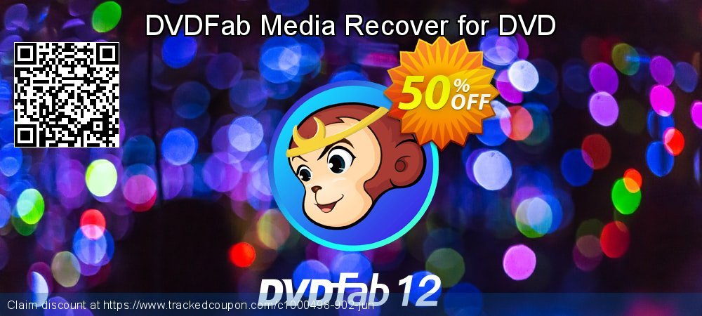 DVDFab Media Recover for DVD coupon on Eid al-Adha offer