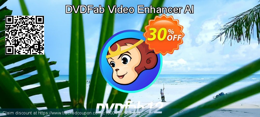 DVDFab Video Enhancer AI coupon on World Population Day offering discount