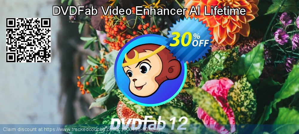 DVDFab Video Enhancer AI Lifetime coupon on Summer offering discount