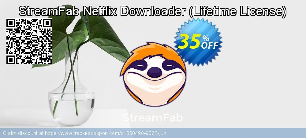 DVDFab Netflix Downloader - Lifetime License  coupon on Mom Day super sale