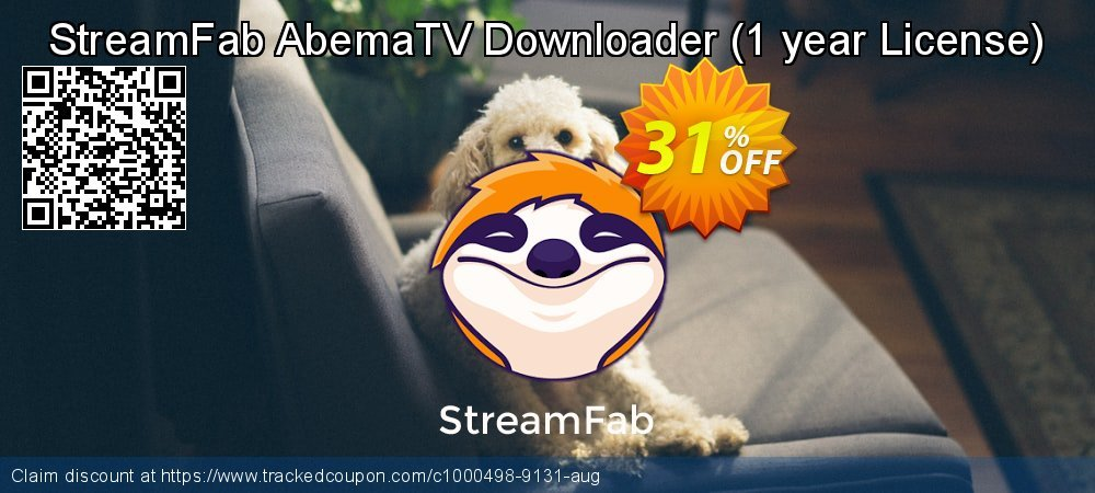 DVDFab AbemaTV Downloader - 1 year License  coupon on Mothers Day discount