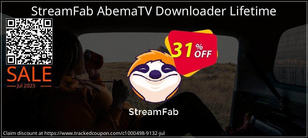 DVDFab AbemaTV Downloader Lifetime License coupon on Mom Day offering discount