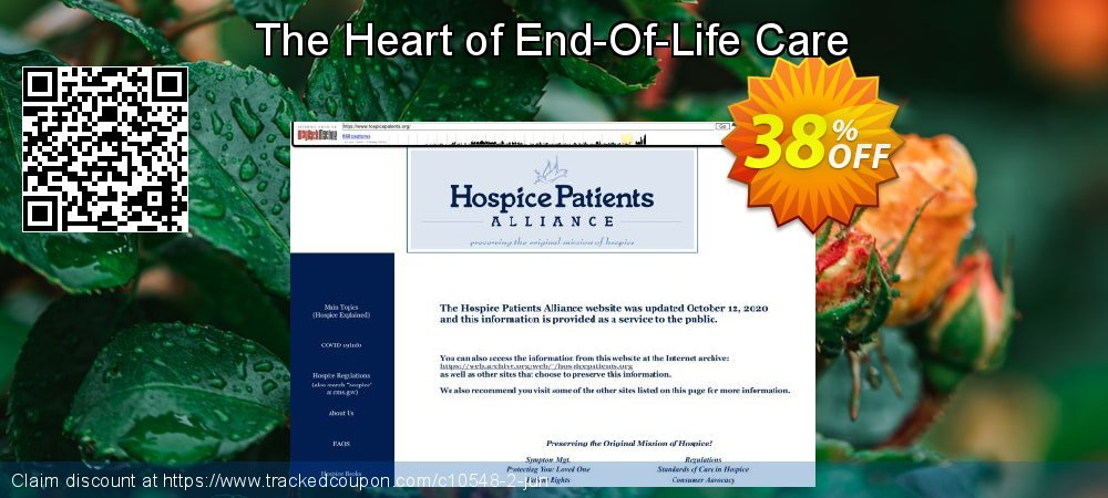 Get 30% OFF The Heart of End-Of-Life Care discounts