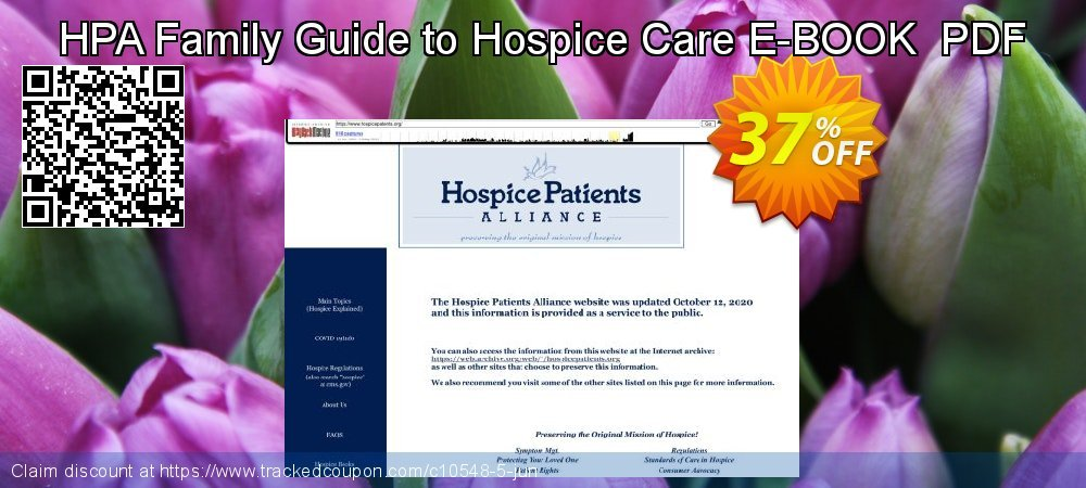 HPA Family Guide to Hospice Care E-BOOK  PDF coupon on Father's Day sales