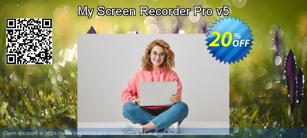 My Screen Recorder Pro v5 coupon on July 4th deals