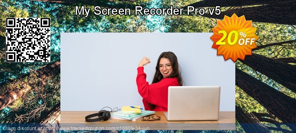 My Screen Recorder Pro v5 coupon on Halloween offering discount