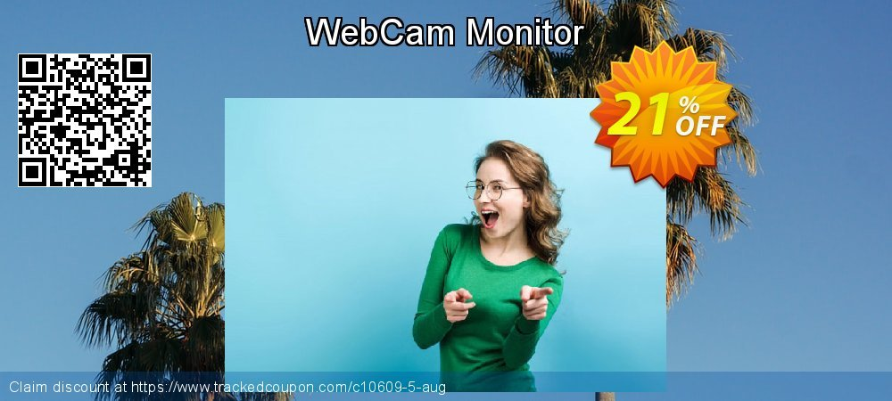 Get 20% OFF WebCam Monitor discount