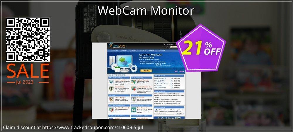 Get 20% OFF WebCam Monitor offering sales
