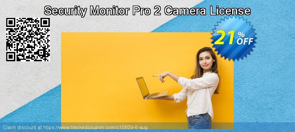 Security Monitor Pro 2 Camera License coupon on 4th of July sales