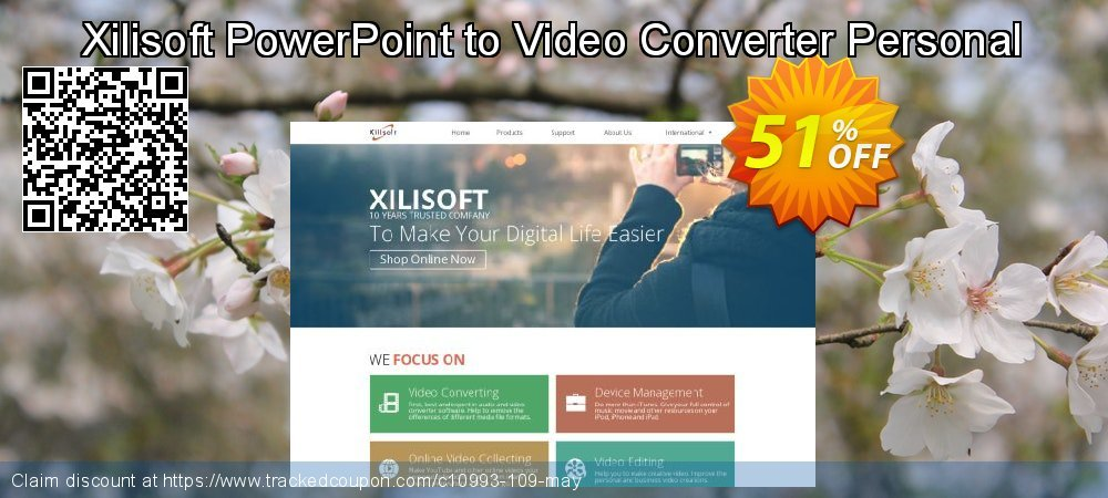 Get 50% OFF Xilisoft PowerPoint to Video Converter Personal offering sales