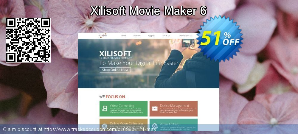 Xilisoft Movie Maker 6 coupon on Halloween deals