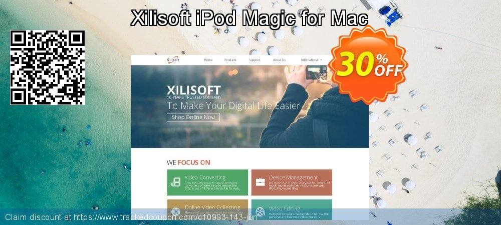 Get 30% OFF Xilisoft iPod Magic for Mac offering sales