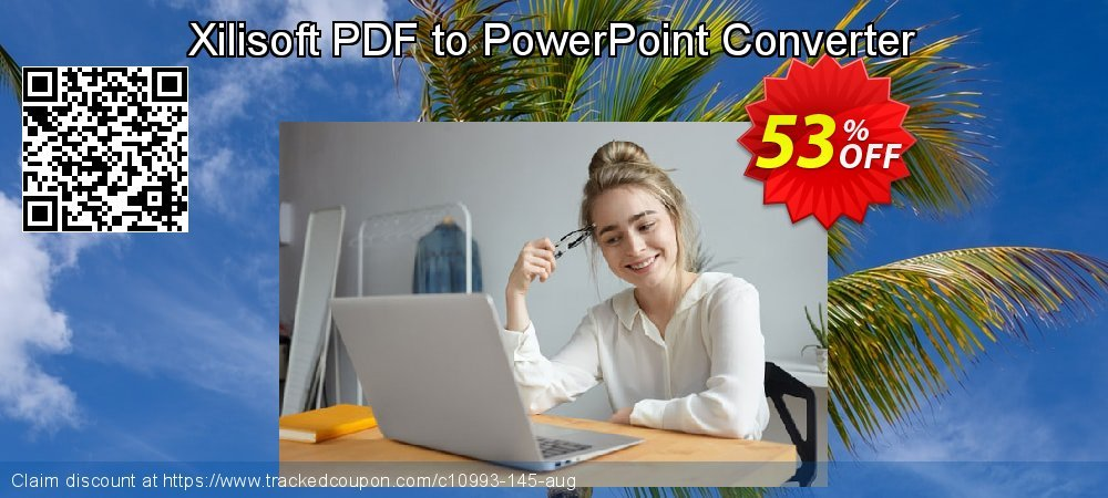Xilisoft PDF to PowerPoint Converter coupon on Halloween offering discount
