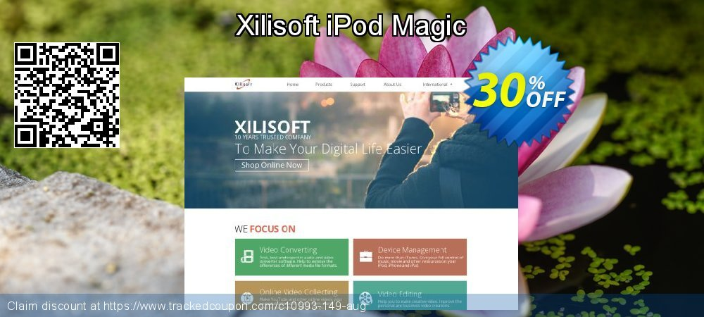 Get 30% OFF Xilisoft iPod Magic offer