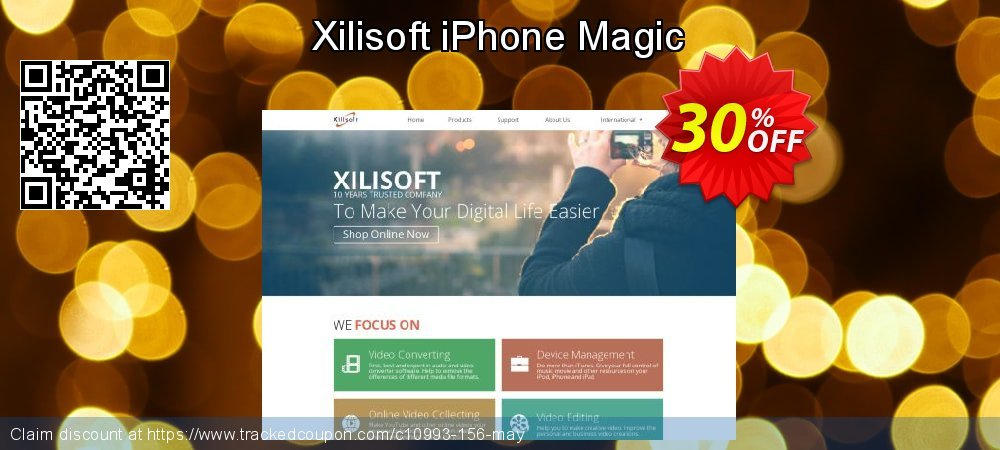 Get 30% OFF Xilisoft iPhone Magic promo