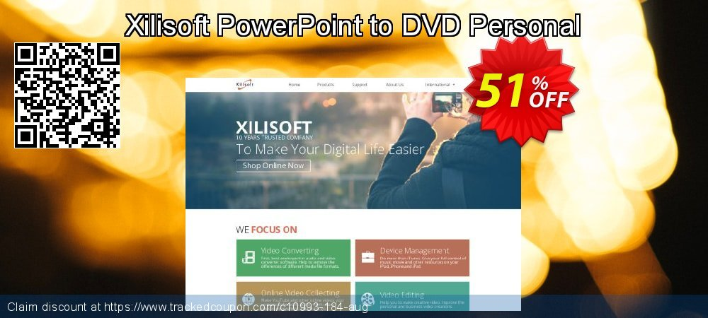 Xilisoft PowerPoint to DVD Personal coupon on Halloween discounts