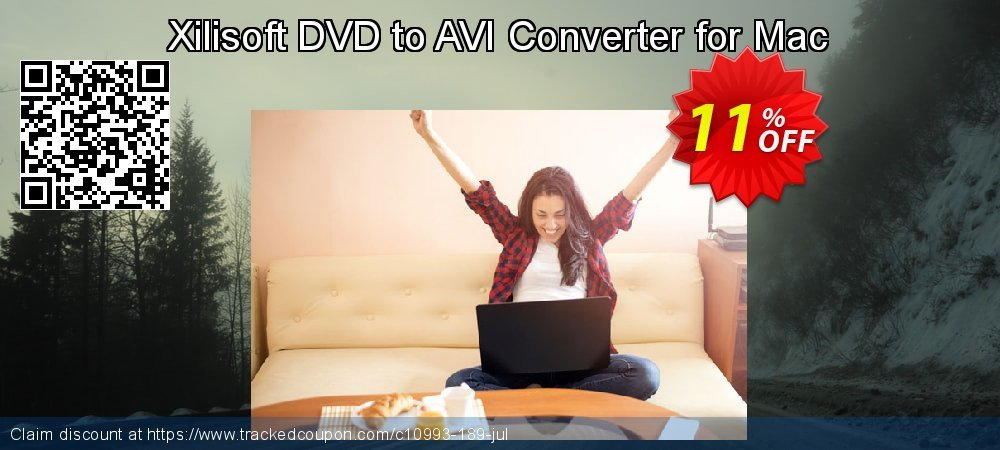 Get 10% OFF Xilisoft DVD to AVI Converter for Mac discount
