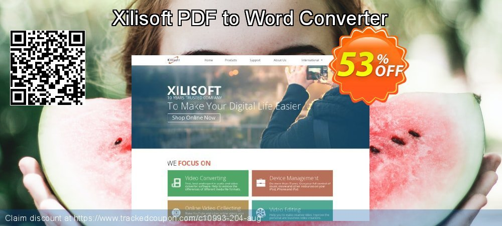 Get 50% OFF Xilisoft PDF to Word Converter offer