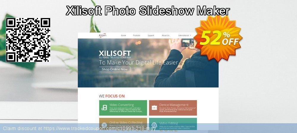 Get 50% OFF Xilisoft Photo Slideshow Maker offering sales