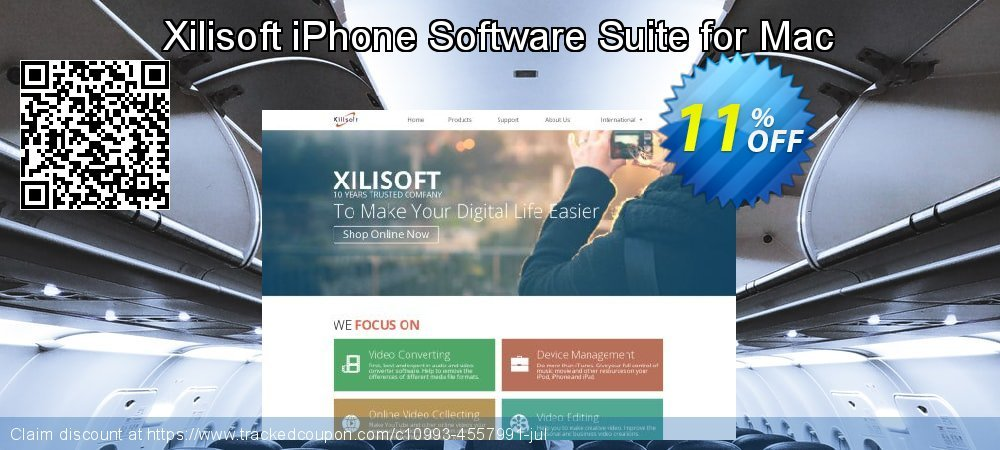 Get 10% OFF Xilisoft iPhone Software Suite for Mac offering deals