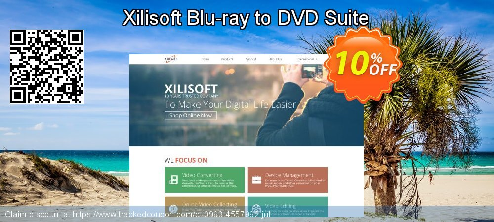 Xilisoft Blu-ray to DVD Suite coupon on Halloween promotions