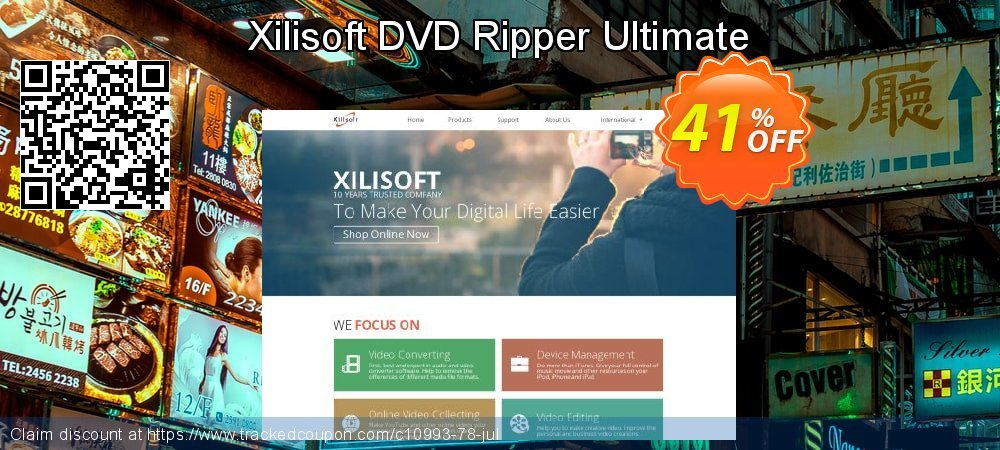 Xilisoft DVD Ripper Ultimate coupon on Halloween sales