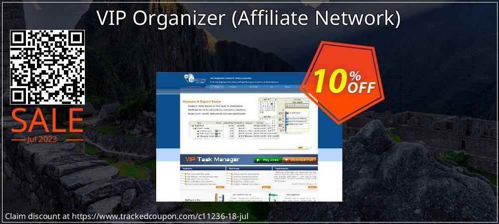 Get 10% OFF VIP Organizer (Affiliate Network) deals