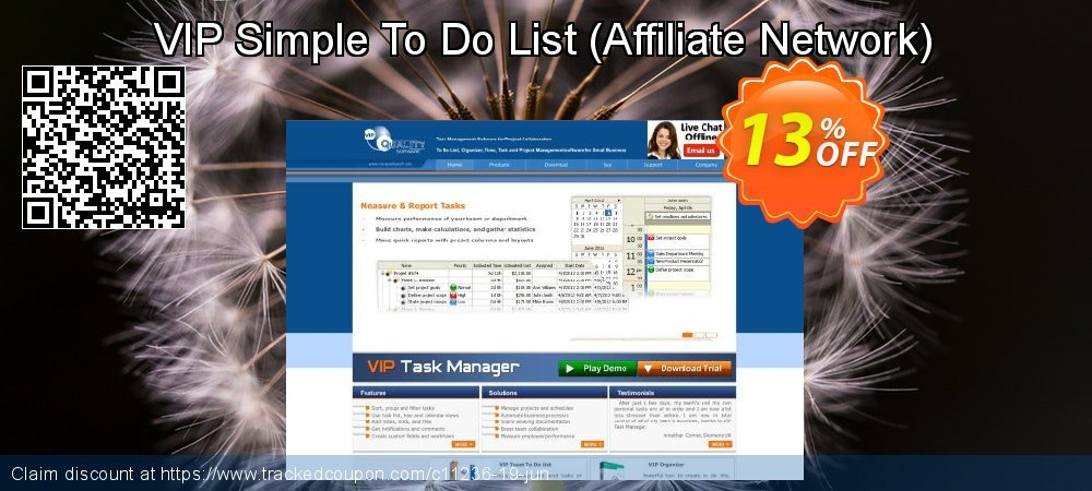 Get 10% OFF VIP Simple To Do List (Affiliate Network) deals