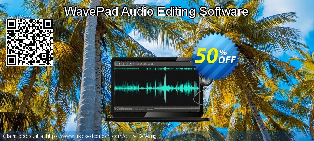 WavePad Masters Edition coupon on Halloween offer