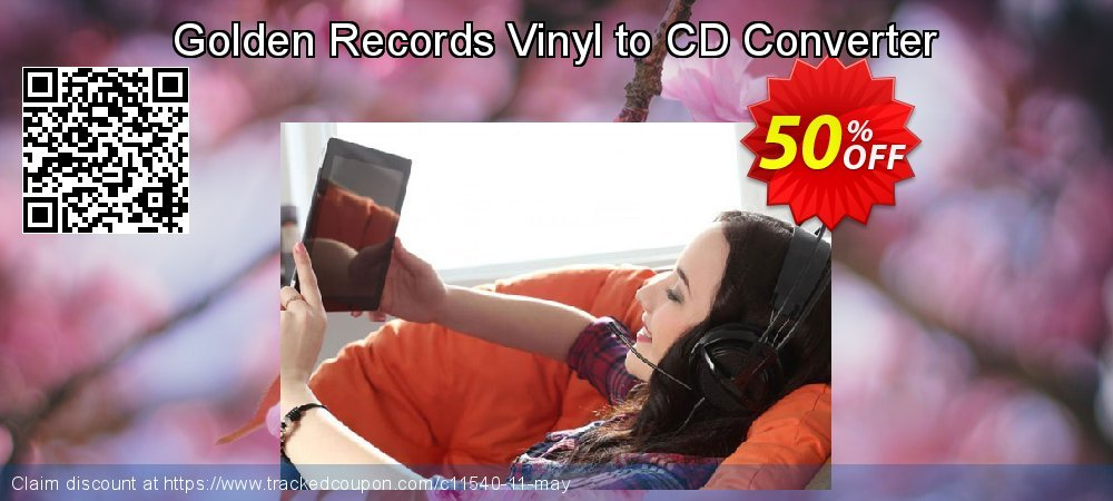 Get 50% OFF Golden Records Vinyl to CD Converter offering sales