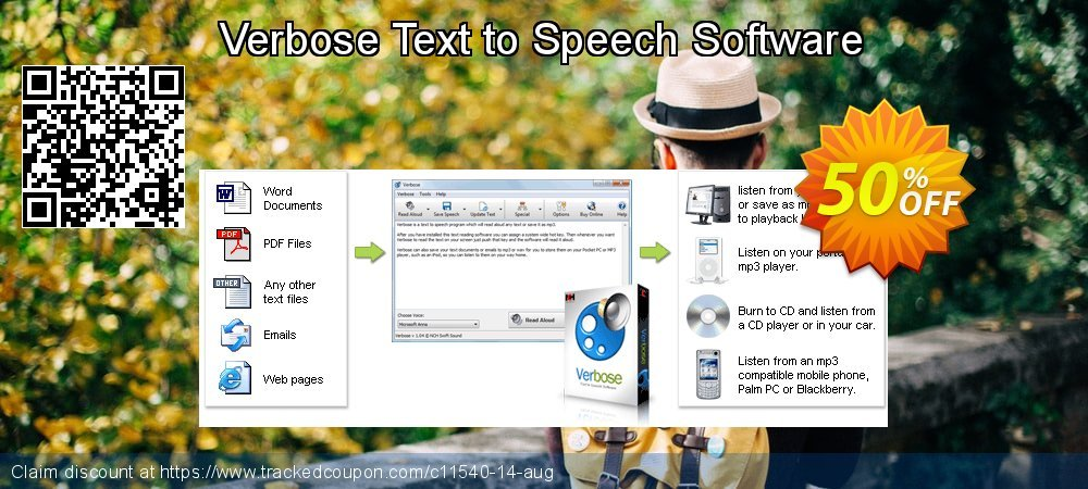 Verbose Text to Speech Software coupon on Halloween super sale