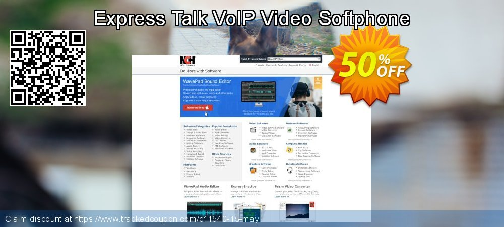 Get 15% OFF Express Talk VoIP Video Softphone offer