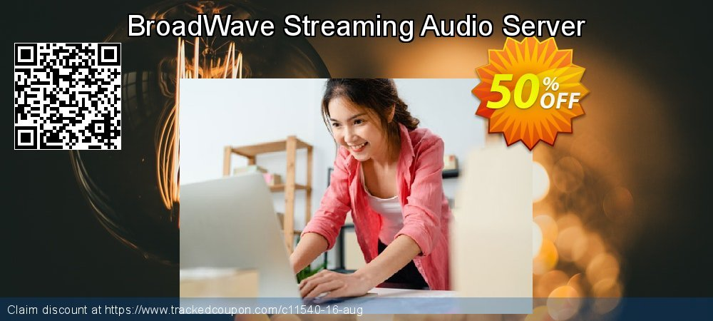 BroadWave Streaming Audio Server coupon on Halloween promotions