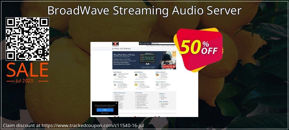 Get 15% OFF BroadWave Streaming Audio Server sales