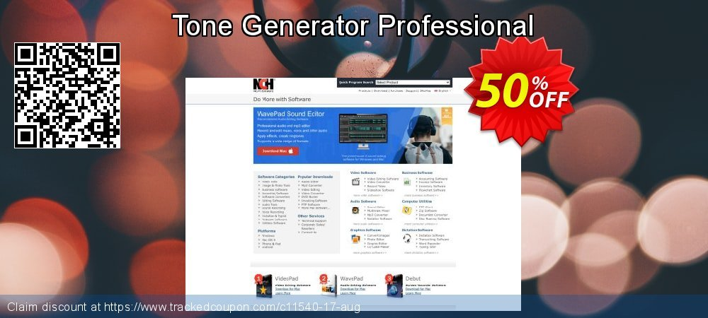 Tone Generator Professional coupon on Halloween sales